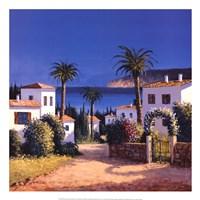 Mediterranean Morning Shadows II Fine-Art Print