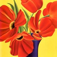Sunny Tulips Fine-Art Print