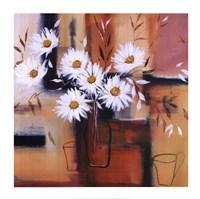 Daisy Impressions II Fine-Art Print