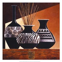 Patterns in Ebony I Fine-Art Print