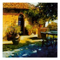 Courtyard Retreat Fine-Art Print