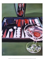 Backgammon Fine-Art Print