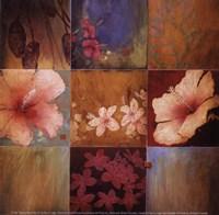 Tropical Nine Patch II Fine-Art Print