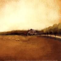 Rural Landscape I Fine-Art Print