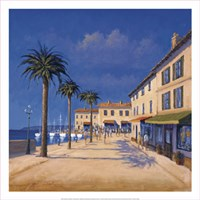 Seaside Promenade II Fine-Art Print