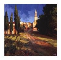 Pathway to the Villa Fine-Art Print