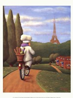 The Road to Paris Fine-Art Print