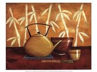 Bamboo Tea Room I Fine-Art Print