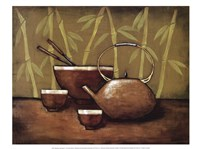 Bamboo Tea Room II Fine-Art Print