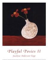 Playful Posies II Fine-Art Print