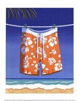 Beach Bound - Boardshorts Fine-Art Print