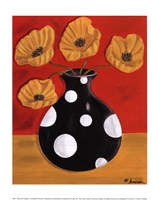 Polka Dot Poppies Fine-Art Print