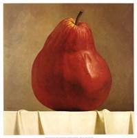 Red Pear Fine-Art Print