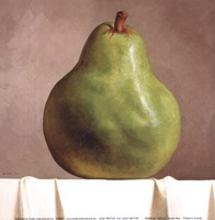 Green Pear Fine-Art Print