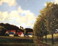 Little Farms Fine-Art Print