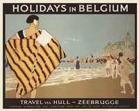 Holidays In Belgium Fine-Art Print