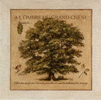 A L'Ombre Du Grand Chene Fine-Art Print