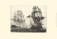 Antique Ships III Fine-Art Print