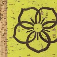 Key Lime Rosette I Fine-Art Print