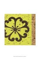 Key Lime Rosette III Fine-Art Print