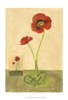 Entwined Poppies Fine-Art Print