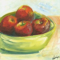 Bowl of Fruit III Fine-Art Print