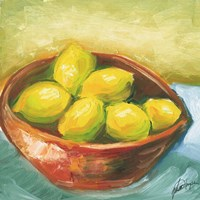 Bowl of Fruit IV Fine-Art Print
