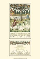 Goosey, Goosey Gander Fine-Art Print