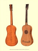 Antique Guitars I Fine-Art Print