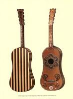Antique Guitars II Fine-Art Print