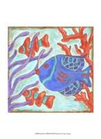 Pop Fish I Fine-Art Print