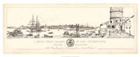 Antique Seaport III Giclee