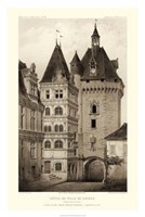 Sepia Chateaux VI Giclee