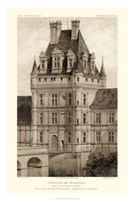 Sepia Chateaux VIII Giclee