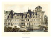 French Chateaux V Giclee