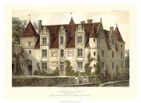 French Chateaux VI Giclee