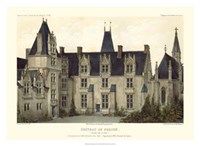 French Chateaux VIII Giclee