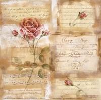 Rose Concerto I Fine-Art Print