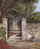 Tranquil Garden I Fine-Art Print
