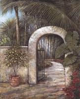 Tranquil Garden II Fine-Art Print