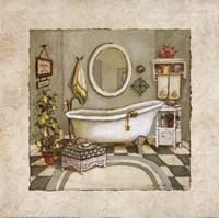 Garden Bath I Fine-Art Print