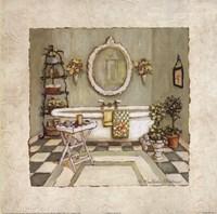 Garden Bath II Fine-Art Print