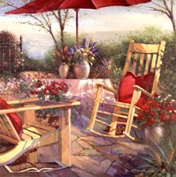 Patio Chaise Fine-Art Print