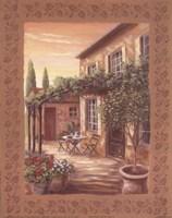 Provence Courtyard II Fine-Art Print
