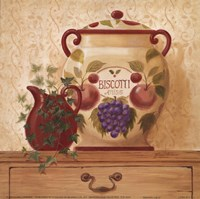 Biscotti Jar II Fine-Art Print
