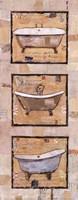 Vintage Tubs I Fine-Art Print