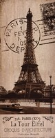 La Tour Eiffel Fine-Art Print
