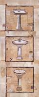 Vintage Sinks I Fine-Art Print