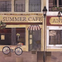 Summer Cafe Fine-Art Print