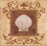 Stylized Shell I Fine-Art Print